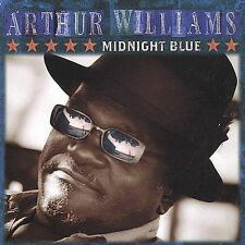 Midnight Blue * by Arthur Williams (Harp) (CD, Oct-2001, Rooster Blues) sealed..