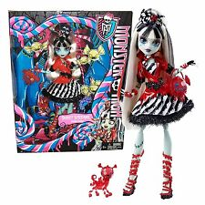 Monster High Exclusive Sweet Screams Frankie Stein Doll New in Box! HTF  BHN02