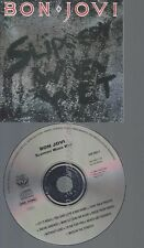 CD--BON JOVI--SLIPPERY WHEN WET--FULL SILVER CIRCLE --