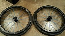 "spinergy spox wheelchair 25"" wheels w/ natural fit handrims"
