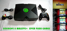 Original Xbox Modded 160GB HDD *CoinOPS 8* OVER 9800 RETRO Games READY TO PLAY!