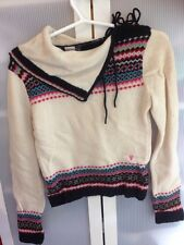 Mooks Beige Long Sleeve Jumper Size USA XS