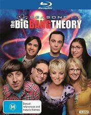 The Big Bang Theory : Season 1-8 (Blu-ray, 2015, 16-Disc Set) NEW