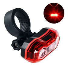 5 LEDs Bright Cycling Bike Bicycle Rear Tail Back Flashing Light Lamp with Clamp