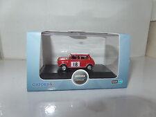 Oxford 76mcs001 mcs001 1/76 Escala Oo Classic Mini Cooper 1968 Rally de Monte Carlo