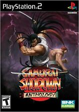 Samurai Shodown Anthology PS2 New Playstation 2