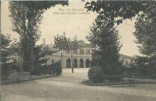 Bra - La Stazione vista dai Giardini Pubblici  - Cuneo viaggiata anno 1936