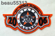 HARLEY DAVIDSON OWNERS GROUP HOG 2006 FT MEYERS FLORIDA STATE RALLY VEST PATCH