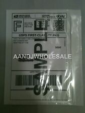 50.Pcs Clear Packing List/ Postage Shipping Label Envelopes 7x5.5 Self Adhesive