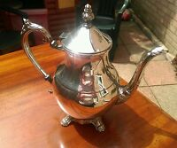 Antique silver plated tea pot coffee pot  f b rogers