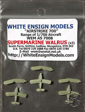 White Ensign Models 1/700 Supermarine Walrus #AS 7008