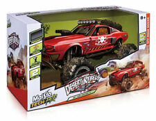 MAISTO TECH R/C Radio Control Car 1:10 DESERT REBELS OFF-ROAD - FORD MUSTANG GT