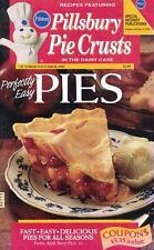 Pillsbury Perfectly Easy PIES Small Cookbook 1995 Using Pillsbury Pie Crusts