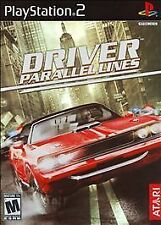 Driver: Parallel Lines PS2 (Sony PlayStation 2, 2006) Complete & Black Label