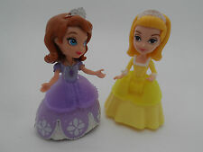 "Disney Princess 3"" dolls Sofia the First + Sister Amber Interactive/Castle Doll"