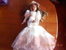 poupée vintage MARIEE grande taille (60 cm)