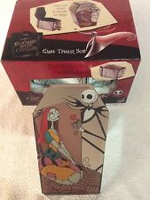 NIGHTMARE BEFORE CHRISTMAS JACK & SALLY TRINKET COFFIN STORAGE BOX JEWELRY GIFT
