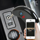 Car 3.5MM Wireless AUX Bluetooth Phone Receiver Adapter Audio Stereo Music Home