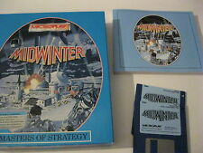 """Midwinter Masters Of Strategy PC Game 3.5"""" disks complete with Map Microplay"""