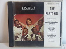 CD ALBUM Legends in music THE PLATTERS  LECD008