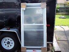 American Craftsman 30 x 58 Double Hung Window. LowEClear Glass. Tilt in Sashes.