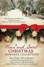 A Plain and Sweet Christmas Romance Collection : Spend Christmas with 9...