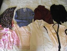 ORIGINAL VINTAGE LADIES CLOTHES 1940s ? BLOUSE, DRESSING GOWN, SLIP.