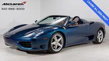 Ferrari: 360 Spider
