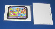 WACKY PACKAGES ANS11 DIE-CUT #23 POTTY POCKET     @@ RARE @@