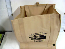Canvas linen Tote Bag Shopping Large, Beige (INDIAN)