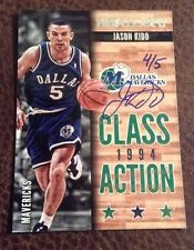 2014-15 Panini Paramount Jason Kidd NBA HOOPS buyback on card auto 4/5 Sp Wow