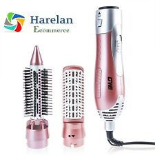 New Electric Plastic Hair Dryer Curler Comb Hair Brush Styling Tool