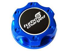FORD 6.0L 7.3L V8 TURBO DIESEL ENGINES TURBOCHARGED BILLET OIL FILLER CAP BLUE