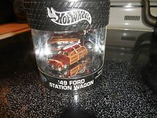 Hot Wheels 2003 Oil Can Series 49 Ford Station Wagon Designer's Choice Series