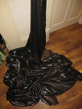 "2M SHIMMER   black /silver  shimmer  DRESS CHIFFON FABRIC 58"" WIDE"