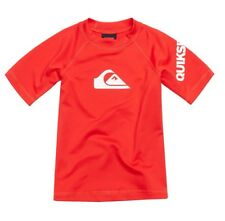 Quiksilver Baby All Time Red Short Sleeve Rashguard UPF 50+ NEW Size 18 Months