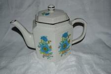 ARTHUR WOOD STAFFORDSHIRE ENGLAND FLORAL IRONSTONE TEAPOT - 5985