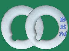 2 Filter Queen Foam Batting Exhaust Top Filters 4404012600 Dome Top