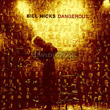 LARGE MOSAIC PHOTO POSTER IN VARIOUS COLOURS OF THE LATE GREAT BILL HICKS No 5