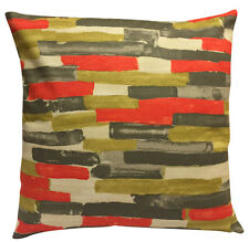 Scion Meiko Coral & Pewter Cushion Cover 18''