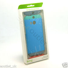 GENUINE HTC ONE M8 HC C940 DOUBLE DIP HARD SHELL CASE/COVER BLUE RED GREEN NEW