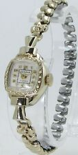 "Ladies GENEVA Fully ""SERVICED"" 17 Jewel Engraved Case Vintage Cocktail Watch"