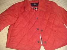 Burberry quilted jacket size 2 ( small pen mark)
