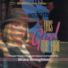 This Girl For Hire - OST Intrada | Bruce Broughton | CD NEU