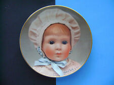 The Doll Collection Plate Baby Dolls GOLDIE from Mildred Seeley 1982 - FREE Ship