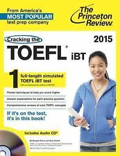 Cracking the TOEFL iBT with Audio CD, 2015 Edition (College Test Preparation), P