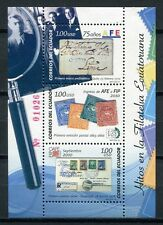 ECUADOR 2010 Philatelie Briefmarken Briefe Block 207 ** MNH
