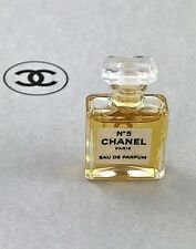 CHANEL NO. 5 EDP MINI BOTTLE MADE INTO A PIN/BROOCH