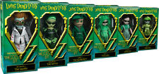 "LIVING DEAD DOLLS - The Lost In Oz 10"" Variant Action Figure Set (6) Mezco #NEW"