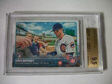 KRIS BRYANT 2015 Topps Update #283 BGS GEM MINT 9.5 RC Cubs RoY